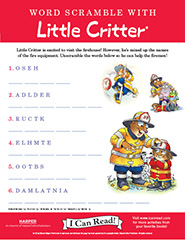 Word Scramble with Little Critter